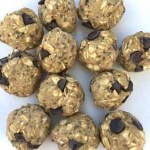 peanut butter banana energy balls
